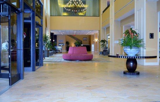 Winston-Salem Marriott : Beautiful lobby!