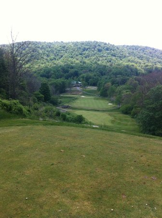 Raven Golf Club: #9, from tee