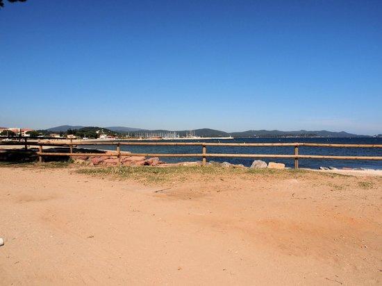 Camping Le Pansard: Het strand bij La Londe Port