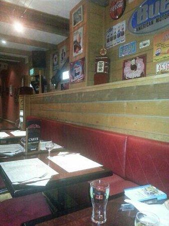 Mayflower: Intérieur du restaurant