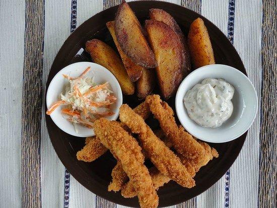 Woka Woka: Fish and Potatoe wedges