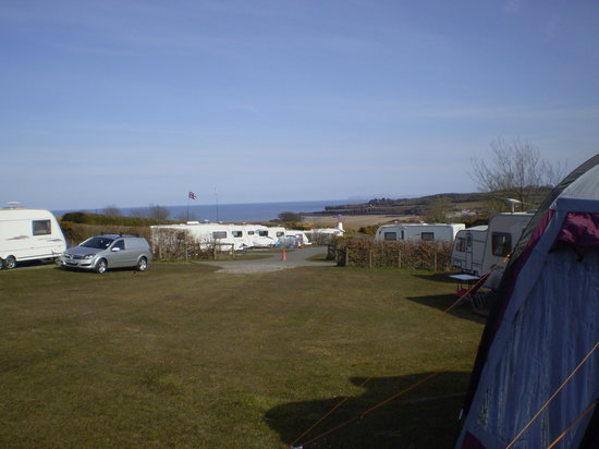 Tyddyn Isaf Camping and Caravan Park : the view