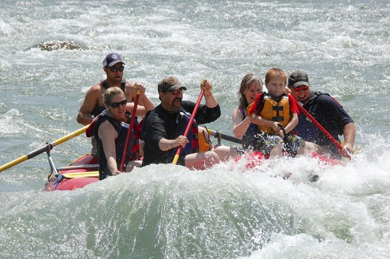 Wild West Rafting: Fun on the Yellowstone!