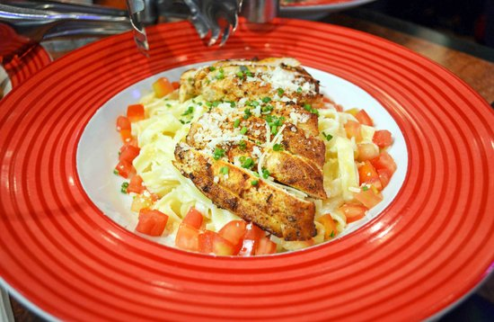 Blackened Chicken Alfredo Picture Of Tgi Fridays Manila