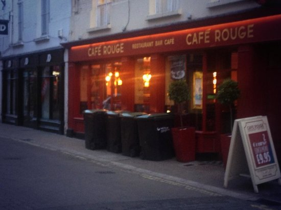 Cafe Rouge - York Coney Street: Best place for romantic meal....