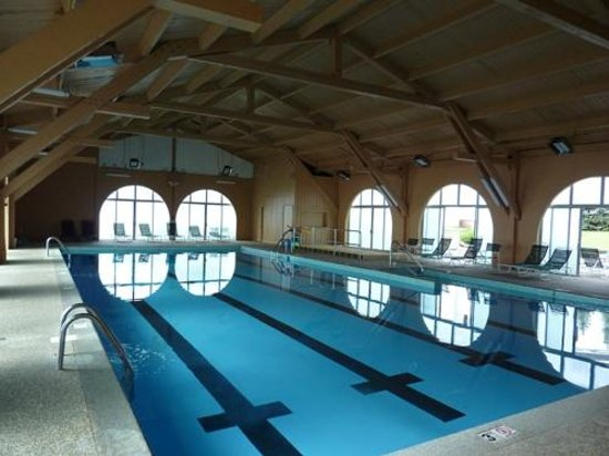 The Aurora Inn Hotel & Event Center : Indoor pool restored to its former glory.