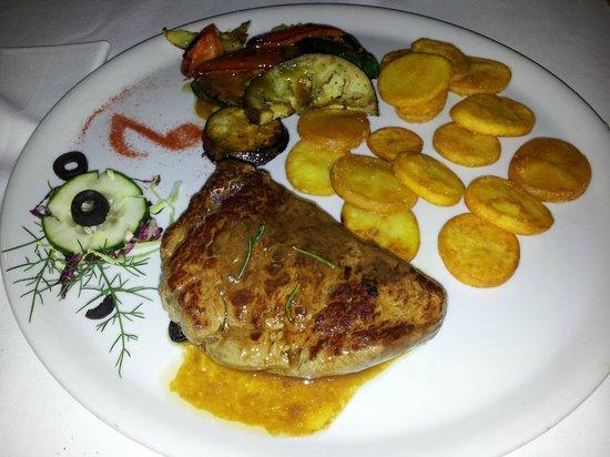 Istarska Konoba Buici: Filet mit Gemüse