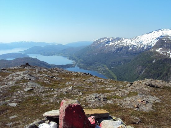 Bogen i Ofoten, النرويج: Uitzicht(en) van Butinden