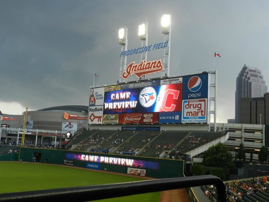 Progressive Field : Toronto vs Cleveland