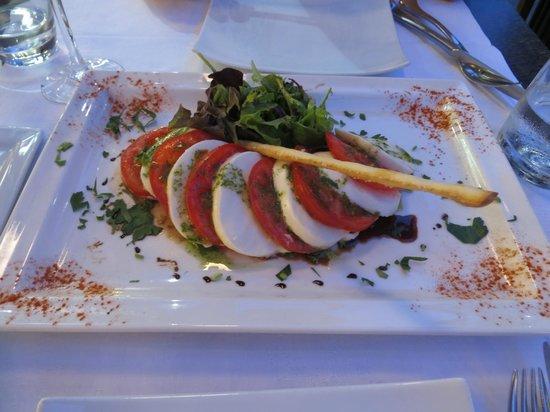 Catherine : Caprese Salad