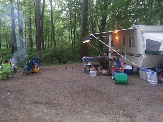 Hoffmaster State Park: Site 153