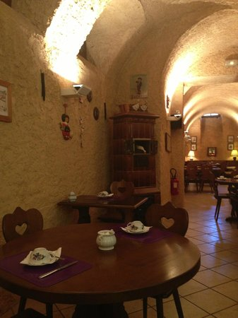 Couvent des Franciscains : Breakfast hall