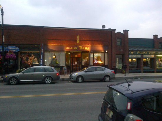 Chang Thai Cafe : View from outside