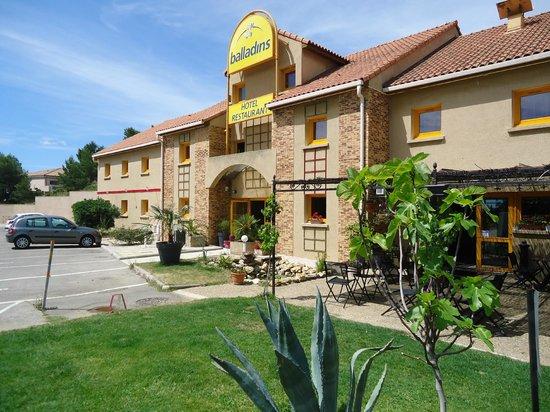 La Villa Martégale : Entrée de l'hôtel