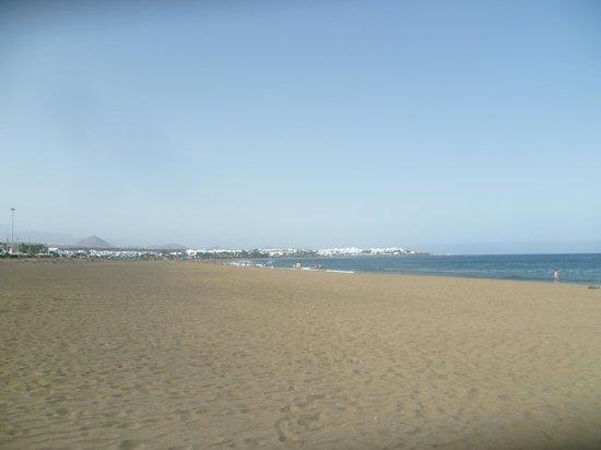 Apartamentos Los Tulipanes: The beach (about 15 mins walk away)