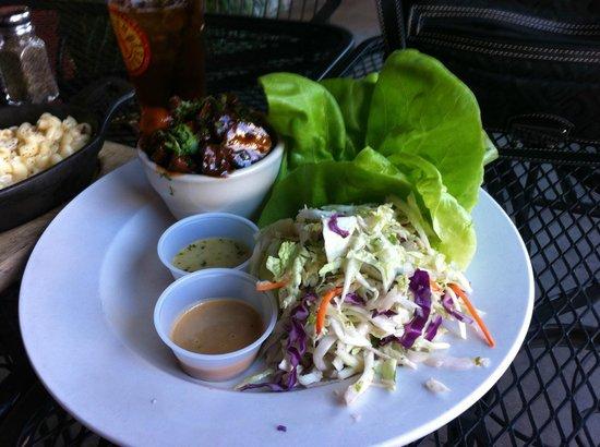 Auburn Alehouse : Beef Lettuce Wraps