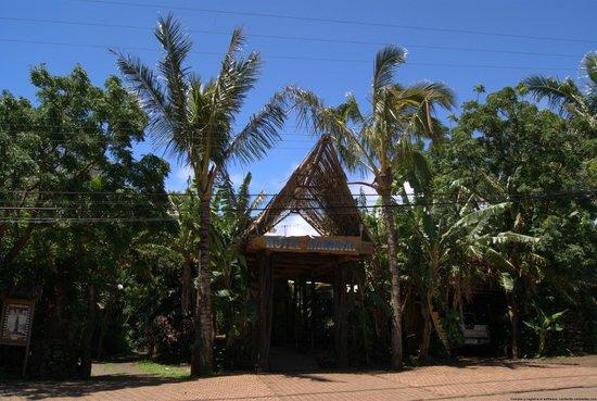 Hotel Manavai: Entrada