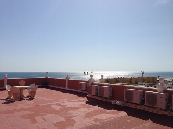 La Mirada Hotel: view from the roof terrace