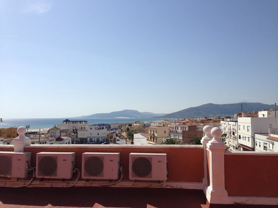 La Mirada Hotel: view of the city from the roof
