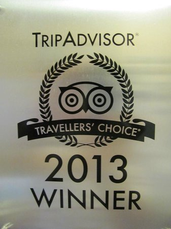 Ainsworth Motel: Travellers' Choice Award 2013; second year running