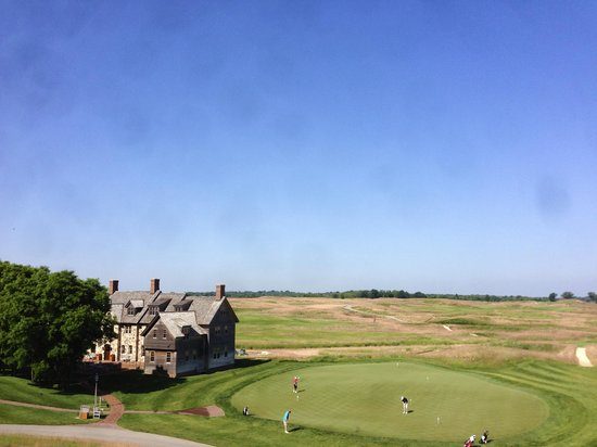 Lodge at Erin Hills Golf resort: view from ballybunion cottage