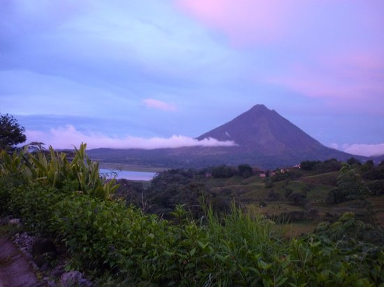 Fusion Grill & Restaurant: view to the arenal