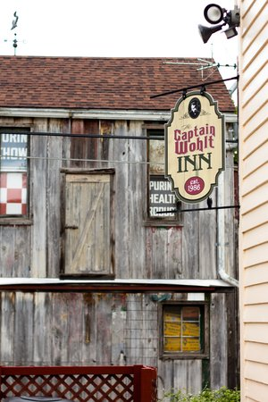 Captain Wohlt Inn: Historic and interesting buildings abound.
