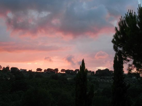 Agriturismo Tara: Umbrian sunset