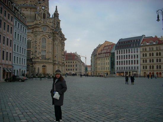 Hilton Dresden Hotel: Dresden é fenomenal.