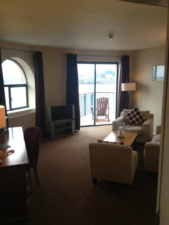 Ferrycarrig Hotel: stunning suite
