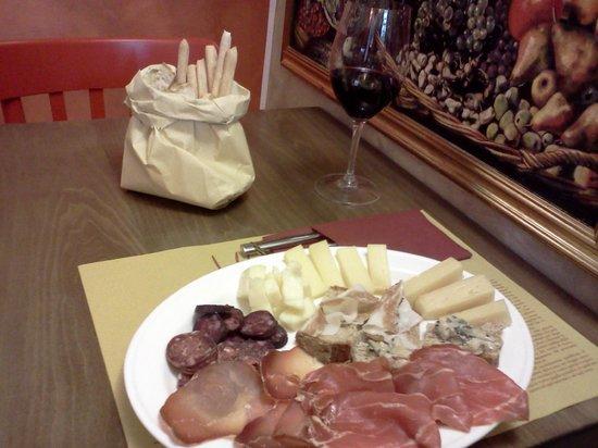 La Bottega Degli Antichi Sapori - Le Bar a Vin: pranzetto