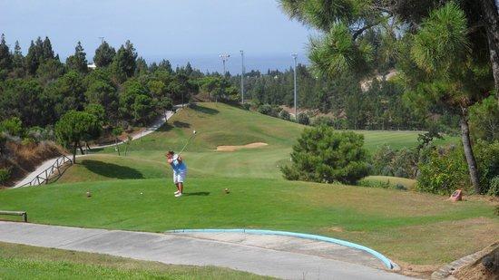El Chaparral Golf Club: Long Hole big carries