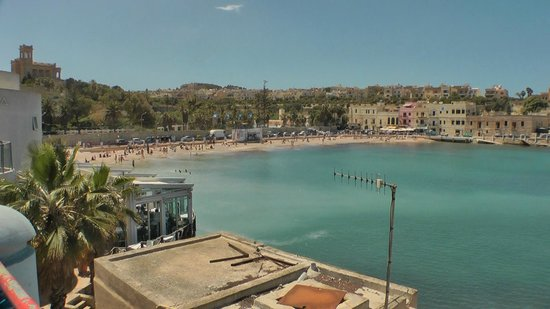 Alexandra Hotel Malta: St. Georges Bay