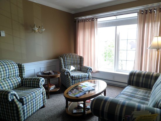 The Humberview B & B: Sitting area