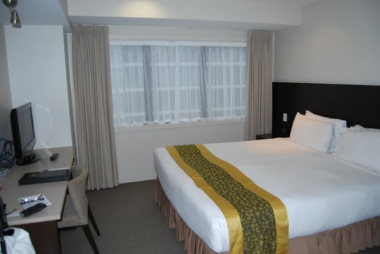 Auckland City Hotel-Hobson St : Sleeping area