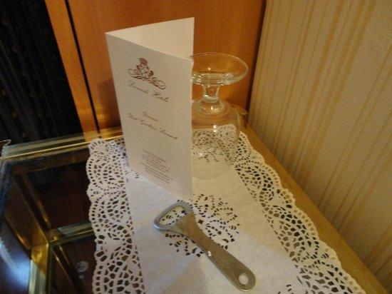 Grand Hotel Hermitage: bicchiere
