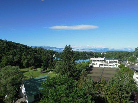 Resort Hotel Tateshina: 朝食をしているところからみえる景色