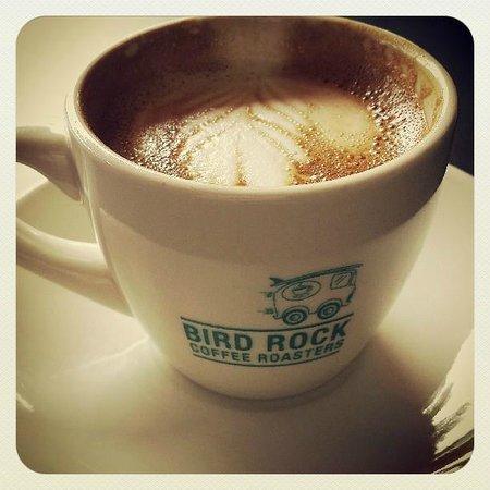 Bird Rock Coffee Roasters: Excellent espresso drink.