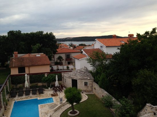 Villa Velike Stine: View from our room