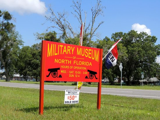Green Cove Springs, FL: Military Museum of North Florida