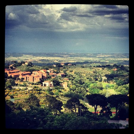 Albergo Il Marzocco: Breath taking view from our balcony