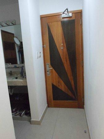 Hotel Bahia Chac Chi: puerta entrada