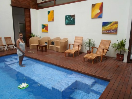Hotel Bahia Chac Chi: zona de piscina, agua calida