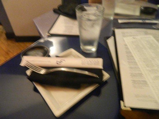 Bluefin Restaurant: Platos