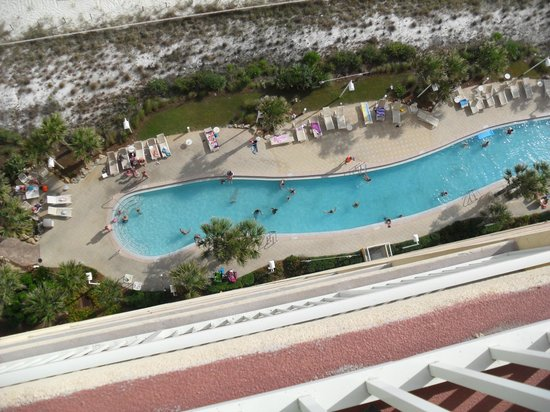 Calypso Resort Towers Pool View From Room