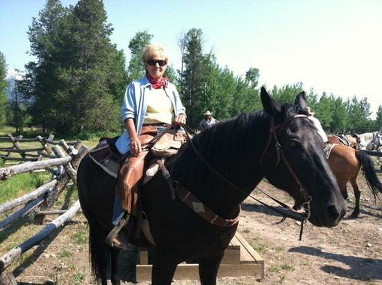 R Lazy S Ranch: One of many great rides!!