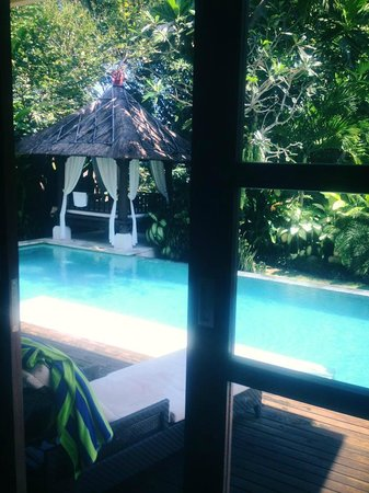 Tepi Laut Villa: The view from my bedroom