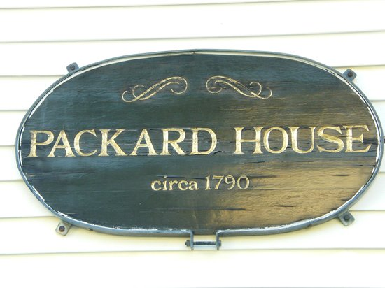 Benjamin F. Packard House: Sign