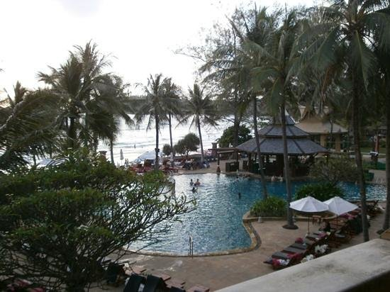 Kata Beach Resort and Spa: view from 1st floor room