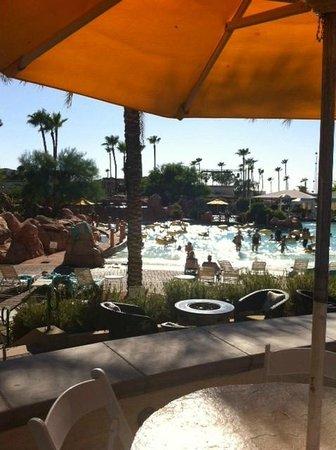 Arizona Grand Resort & Spa: At the water-park